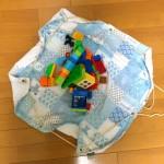 レゴマット&バッグを簡単に手作りした《100均利用・ミシン不要》
