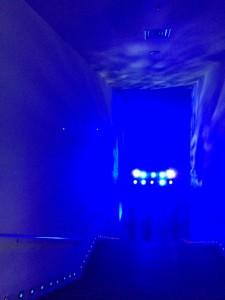 すみだ水族館 ブルーの照明