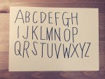 TODAY'S SPECIAL(トゥデイズスペシャル)風の文字を手書きで書いてみた