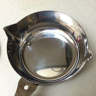 燕市片手鍋(カラス口パン)注ぎ口