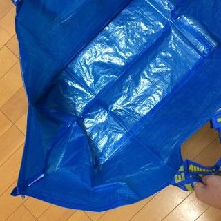 IKEAのバッグ 大きなマチ