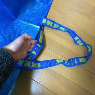 IKEAのバッグ 持ち手